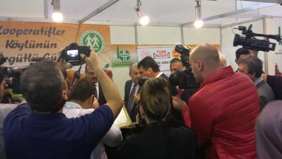 We have made a difference with our geographical sign registration in Agriculture Fair ..