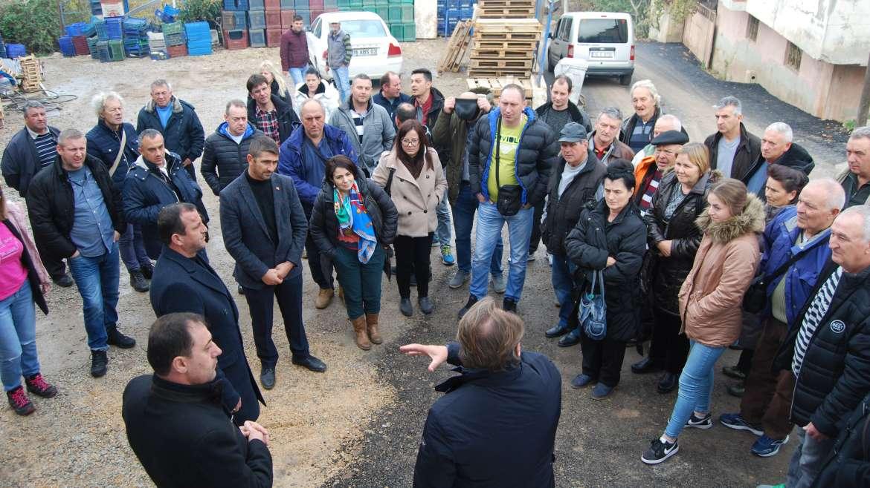 (Turkish) 12-13/12/2019 tarihleri arasında Sırbistan Ticaret Heyeti Birliğimizi ve Kooperatiflerimizi ziyaret etti