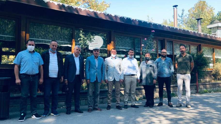 (Turkish) Narlıdere köyü Kooperatif Başkanımız İsmail KORKU' ya nazik daveti için teşekkürlerimizi sunarız