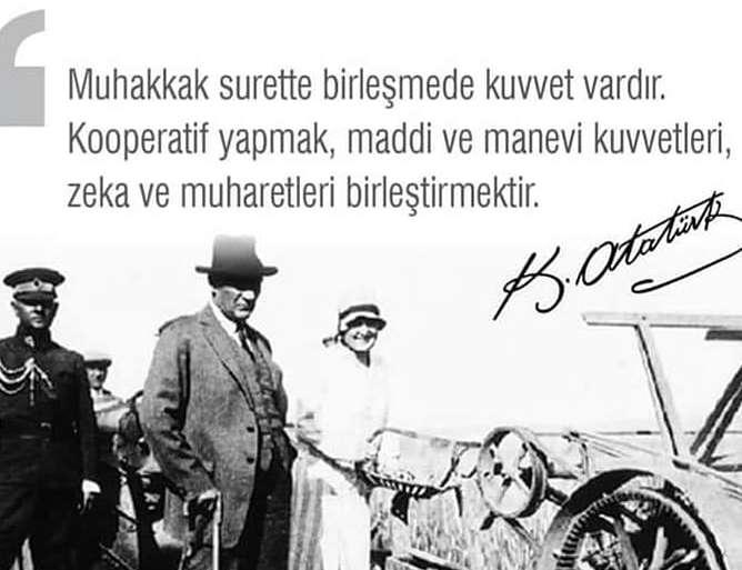 (Turkish) 21 ARALIK DÜNYA KOOPERATİFÇİLİK GÜNÜMÜZ KUTLU OLSUN