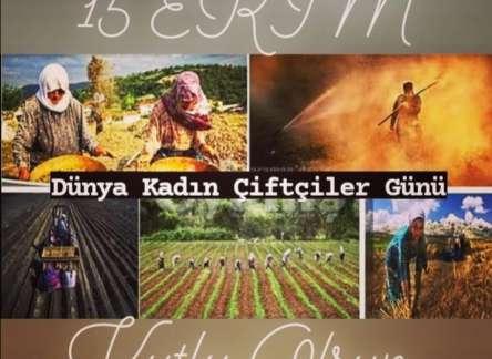 (Turkish) 15 EKİM DÜNYA KADIN ÇİFTÇİLER GÜNÜ