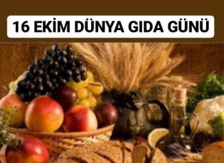 (Turkish) 16 EKİM DÜNYA GIDA GÜNÜ